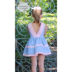 vestido con encaje
